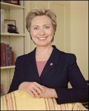 Former Secretary of State Hillary Clinton (D)
