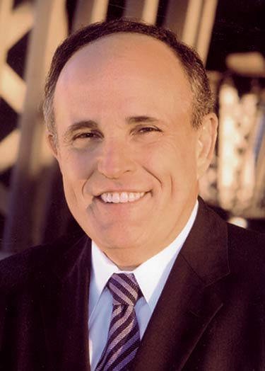 Mayor Rudy Giuliani (R, NYC)
